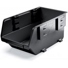 Kistenberg EXE Plastový úložný box, 11,9x7,7x5,8cm, černá KEX12-S411