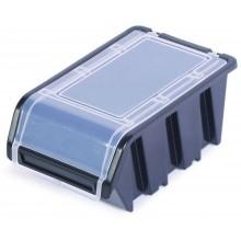 Kistenberg TRUCK PLUS Plastový úložný box s víkem, 15,5x10x7cm, černý KTR16F-S411
