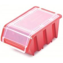 Kistenberg TRUCK PLUS Plastový úložný box s víkem, 19,5x12x9cm, červená KTR20F-3020