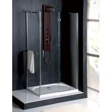 POLYSAN VITRA LINE obdélníková sprchová zástěna 800x700mm, pravá, čiré sklo
