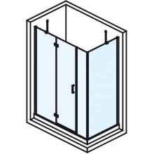 POLYSAN VITRA LINE obdélníková zástěna bez držáku osušky 1600x800mm, levá, čiré sklo
