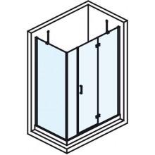 POLYSAN VITRA LINE obdélníková zástěna bez držáku osušky 1600x800mm, pravá, čiré sklo