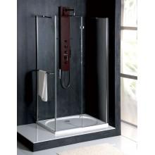 POLYSAN VITRA LINE obdélníková zástěna bez držáku osušky 900x1100mm, pravá, čiré sklo