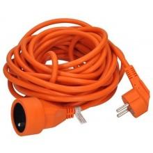 SOLIGHT Prodlužovací kabel 1z. 15m, 3x1mm2, oranžový PS19O