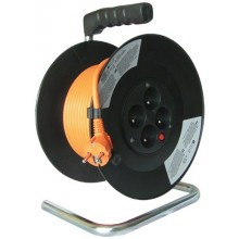 Prodlužovací kabel 3x1,5mm2 buben 20m, 4x zásuvka PB09