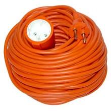 Prodlužovací kabel 20m 2x1mm2 - oranžový PS27