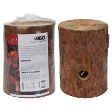 ProGarden Švédská svíce dřevo 15 x 20 cm KO-FS1000020