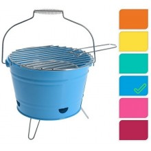 ProGarden BBQ Party Bucket gril přenosný, 27 cm, modrá KO-Y64950310modr