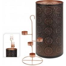 ProGarden Dekorativní svícen na 4 čajové svíčky, vysoký 35 cm KO-A04420340