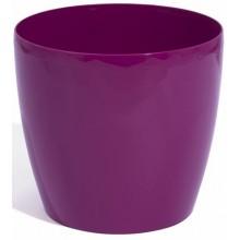 PROSPERPLAST COUBI květináč 23 cm, 6,5l,fialová DUO230