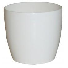 PROSPERPLAST COUBI květináč 2l, bílá DUO150