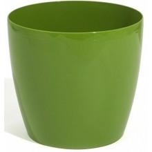 PROSPERPLAST COUBI květináč 1l, hráškově zelená DUO120
