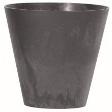 Prosperplast TUBUS EFFECT Květináč 20 cm, antracit DTUB200E