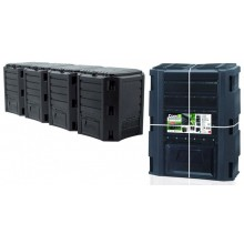 Prosperplast MODULE COMPOGREEN Kompostér 1600l černý IKLM1600C-S411