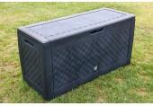 PROSPERPLAST BOXE BRICK Zahradní box 310 l, antracit MBB310