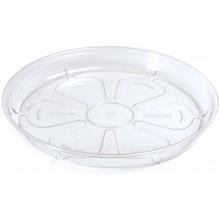 PROSPERPLAST COUBI miska pod květináč 14x2cm čirá PPC140