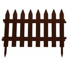 Prosperplast GARDEN CLASSIC zahradní plot 360x52cm hnědý IPLSU2
