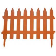 Prosperplast GARDEN CLASSIC zahradní plot 360x52cm terakota IPLSU2