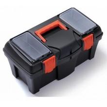 PROSPERPLAST MUSTANG Plastový kufr na nářadí černý, 458 x 257 x 227 mm N18R