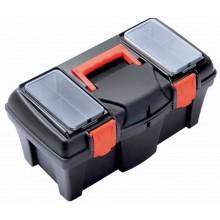 PROSPERPLAST MUSTANG Plastový kufr na nářadí černý, 550 x 267 x 270 mm N22R
