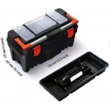 PROSPERPLAST PRACTIC kufr na nářadí černý, 550 x 267 x 277 mm N22RFI
