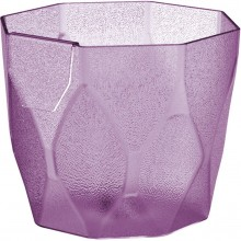 PROSPERPLAST ROCKA P Květináč 12,6 cm, fialová DROC125P