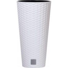 Prosperplast RATO TUBUS Květináč 25x47,6cm bílý DRTUS250