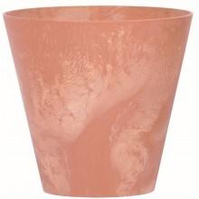 Prosperplast TUBUS EFFECT Květináč 30 cm, terakota DTUB300E