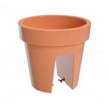 Květináč balkonový LOFLY RAILING 25 cm, 5l, 24,5 x 24,5 x 22,5 cm terakota DLOFR250