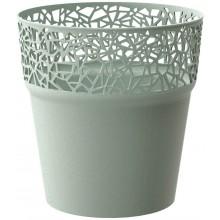 Prosperplast TREE květináč s krajkou 12 cm, šalvěj DTRE120
