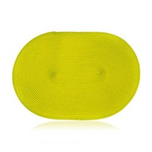 ROYCE BOHEMIA Prostírání plastové oválné MADEIRA Green 45 x 30 cm 84603500G