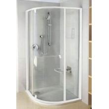 RAVAK Pivot PSKK3-80 sprchový čtvrtkruhový kout, white/chrom Transparent 37644100Z1