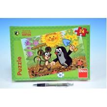 Puzzle Krtek a Myška 24 dílků 21351455