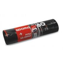 Pytle na odpadky LDPE zatahovací 60l/15 ks 65x75cm Q006