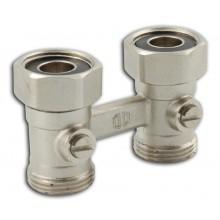 """NOVASERVIS radiátorový uzavírací ventil dvojitý přímý 3/4"""" RA340/25"""