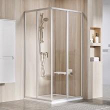 RAVAK SUPERNOVA SRV2-S 80 rohový sprchový kout/dveře, white+pearl 14V4010211