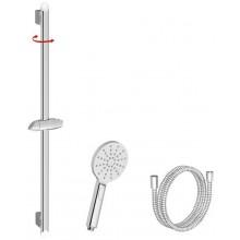 RAVAK 920.00 Sprchový set Ruční sprcha Flat Mlha, tyč 90 cm,150 cm X07S001