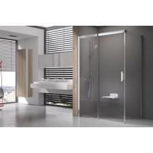 RAVAK Matrix MSDPS-110/80 L Sprchové dveře s pevnou stěnou, satin+Transparent 0WLD4U00Z1
