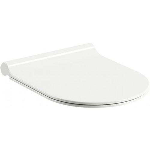 RAVAK Uni Chrome Slim WC sedátko, white X01550