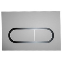 RAVAK Chrome WC ovládací tlačítko satin X01454