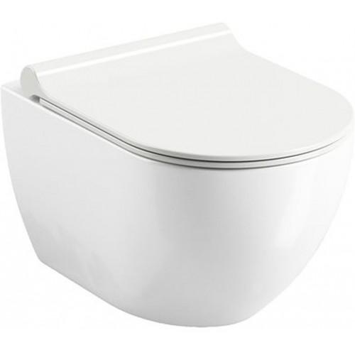 RAVAK Uni Chrome RimOff závěsný WC white X01535