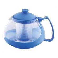 KAISERHOFFKonvice na čaj sklo/plast 750 ml, modráRB-3026modr