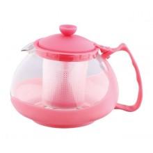 KAISERHOFFKonvice na čaj sklo/plast 750 ml, růžováRB-3026ruzo