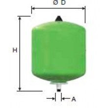 Refix topná expanzní nádoba DD 8/10 zelená