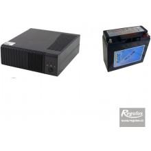 REGULUS zdroj záložní PG500 + akumulátor 18Ah 12505