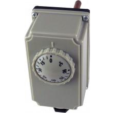 REGULUS Termostat prov. zakryt. s jímkou 0-90°C, čidlo 5,8x100 13620