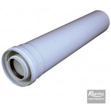 REGULUS odkouření kondenzační A2008079 - prodloužení, pr.60/100, l=2000 mm, PP/plech