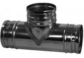 REGULUS Odbočka jednoduchá 90°, 125/125mm OBJ90125125 7889
