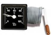 REGULUS TG 0-120°C teploměr 48x48mm, kapilára 1 m 130.10025.00A 120