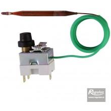 REGULUS 95H110R09/04756 Termostat havarijní 90-110°C, kapilára 1,5m 10740